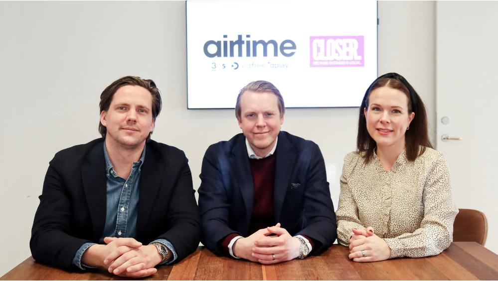 Airtime Sales inleder samarbete med Closer